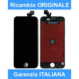 iPhone 5 Originale Apple Schermo-Display + Touch Screen Nero
