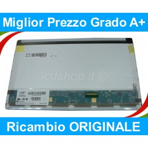 "Toshiba Satellite L735-S3220Rd Lcd Display Schermo Originale 13.3"" Hd Led 40Pin  (334LH1078)"