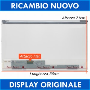 15.6 AU OPTRONICS B156XW02 F/W:1 H/W:4A Display Schermo HD Led - LcdShop