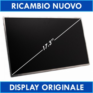 "Lg Philips Lp173W01-Tln1 Lp173W01(Tl)(N1) Lcd Display Schermo 17.3"" Led  (734LH1491)"