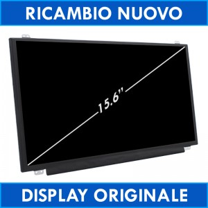 "15.6"" Display Led Toshiba PSCF6E-03J010FR HD 40Pin Schermo"