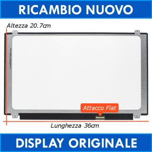 "15.6"" Led B156XTN07.0 eDP 30Pin Display Schermo HD"