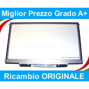 "Apple Macbook Unibody Ltn133At09 Lcd Display Schermo Originale 13.3"" Led 30Pin  (333LW54)"